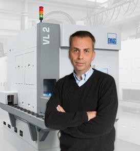 埃马克(中国)机械有限公司 CEO Dr. Uwe Rondé博士