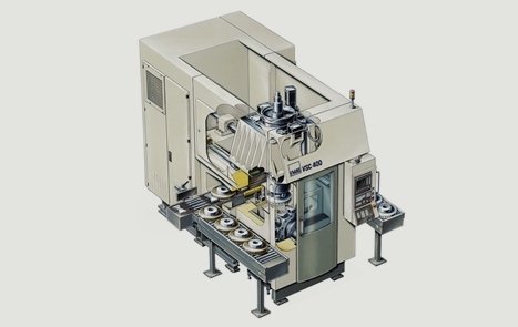 Innovation Vertical Pick Up Turning Machine