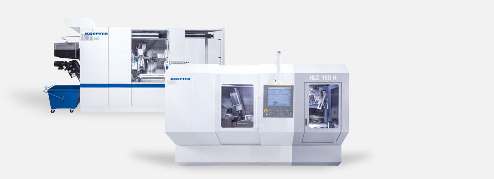 Gear hobbing machines from EMAG at a glance