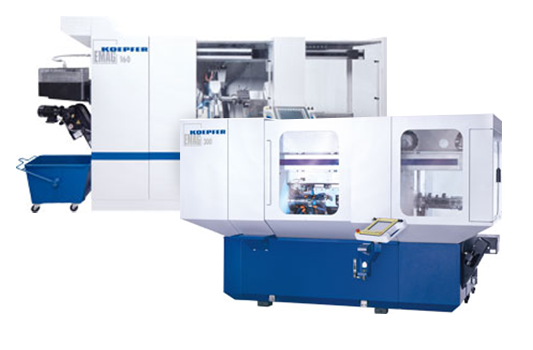 K160/K200/K300—Horizontal Hobbing Machines from EMAG KOEPFER