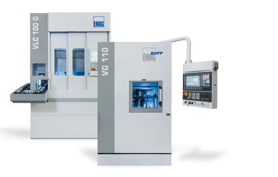 Internal and Face Grinding Machines from EMAG