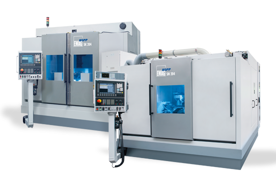 Cam and Camshaft Grinding Machines from EMAG