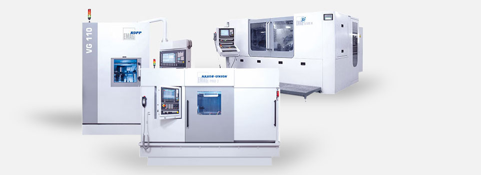 CNC grinding machines from EMAG—Machine overview