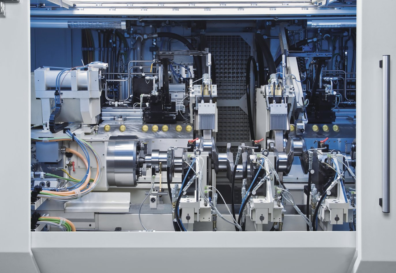 crankshaft machine