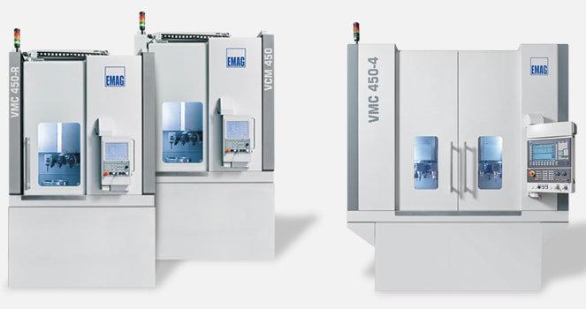 I torni VM / VMC sono sistemi ideali per la produzione di pezzi a sbalzo pesanti, di dimensioni elevate e con geometrie complesse