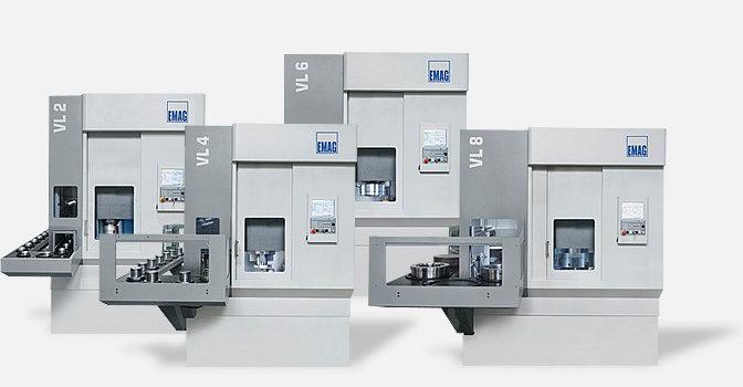 Modular VL – Torni CNC verticali EMAG con struttura modulare