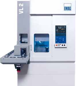 Modular VL - Vertical CNC turning centers from EMAG with a modular design
