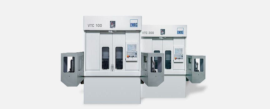 Customized VTC CNC turning centers - Complete machining of shafts