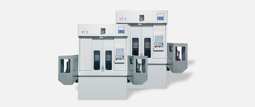 VT series CNC turning centers: four axes, short distances, powerful main spindle