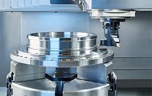 Vertikale Dreh- / Fräsmaschine für die Bearbeitung von Futterteilen bis 450 mm