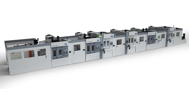 Pistons, usinage de précision - installation pour un usinage complet